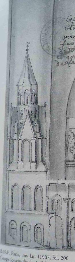 Clocher abbaye Saint Martial Limoges
