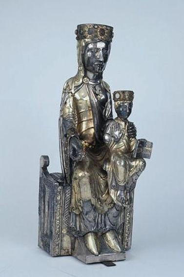 Vierge trésor Beaulieu-sur-Dordogne