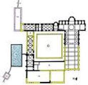 Plan de l'Abbaye d'Aubazine
