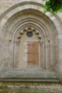 Portail polylobé Limousin Celle Dunoise