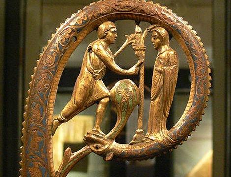Limoges enamels cross