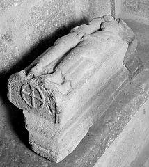 gisant abbaye chalard