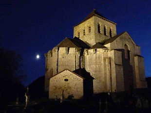 Churches limousin medieval