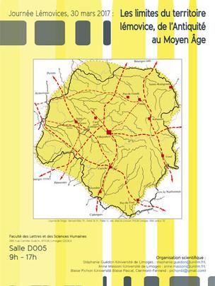 Journée d'Etudes sur « Les limites du territoire lémovice, de l'Antiquité au Moyen Âge »