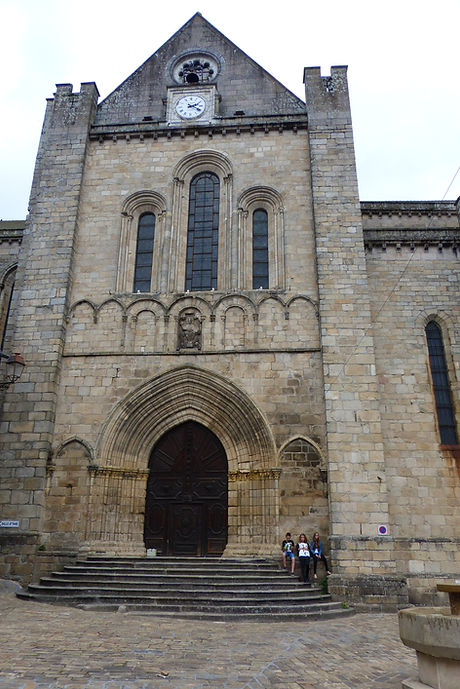 Portail Collégiale de Saint-Yrieix