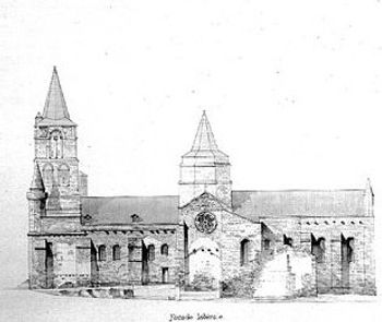 Collégiale Saint-Junien dessin