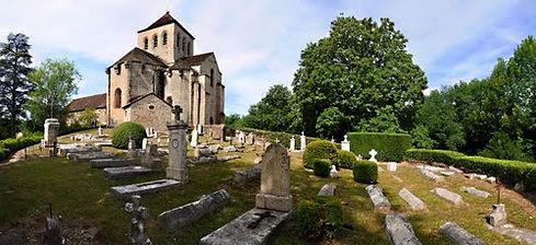 Cimetière abbaye Chalard