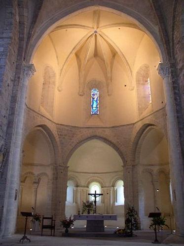 Choeur Prieuré d'Arnac
