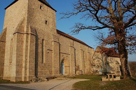 Eglise templière Paulhac