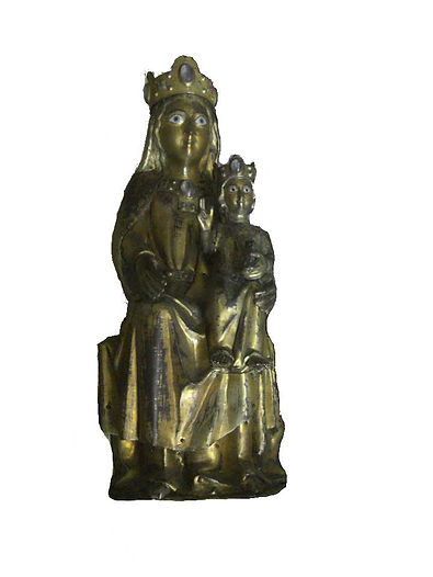 Vierge émaillée de Breuilaufa