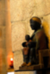 Vierge noire abbaye Meymac