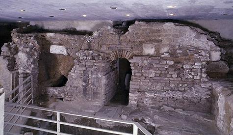 Crypte abbaye Saint-Martial