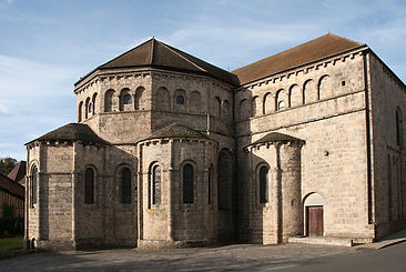 Abbaye Solignac chevet