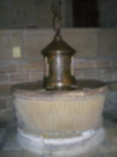 Cuve Baptismale Brive