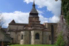 Chevet Abbaye de Chambon sur Voueize