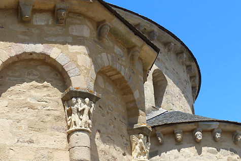 Chevet Abbaye de Vigeois