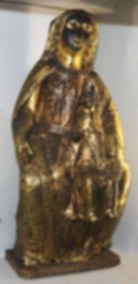 Vierge émaillée de Soubrebost