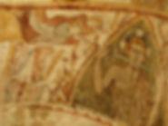 Paintings Gargilesse romanesque