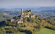 Limousin castles medieval