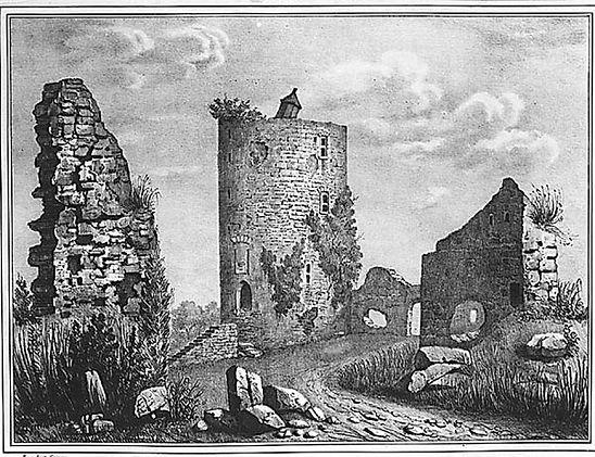 Ruines de Tour de Bridiers