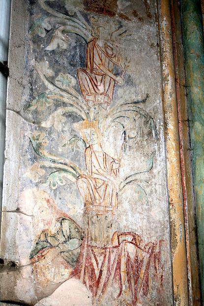 Fresques commanderie Paulhac