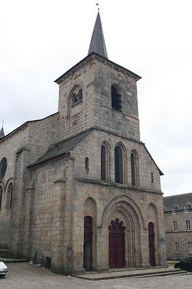 Clocher abbaye Meymac