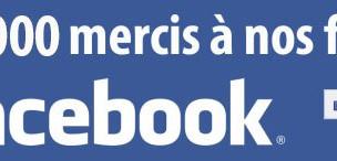 15 000 passionnés sur facebook, une réussite !