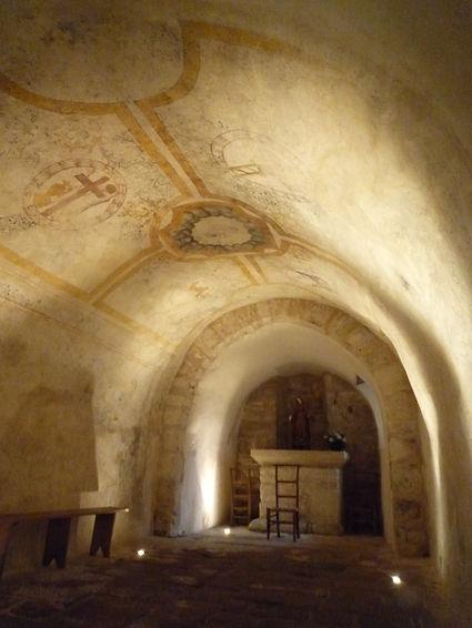 Crypte Prieuré du Chalard