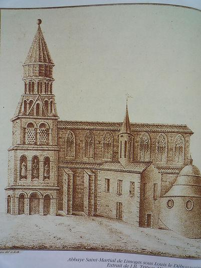 Tripon Abbaye Saint-Martial de Limoges