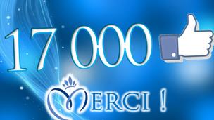 Une réussite : 17 000 passionnés sur facebook !
