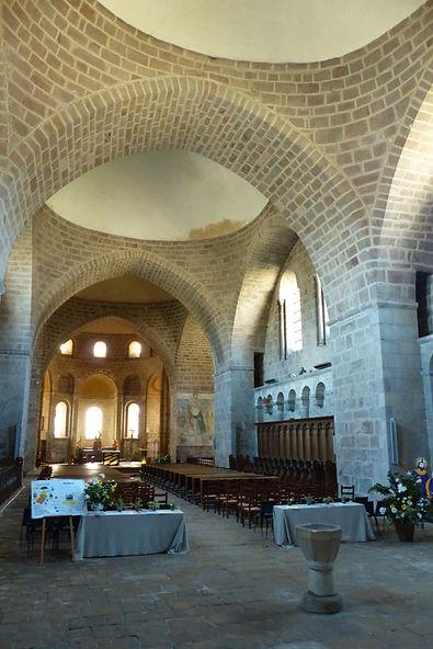 Abbaye Solignac files de copoles