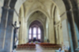 Nef de la Collégiale de Saint-Yrieix