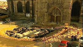 Cathédrale de Limoges fouilles baptistère
