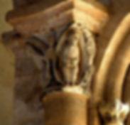 Chapiteau abbaye de Vigeois