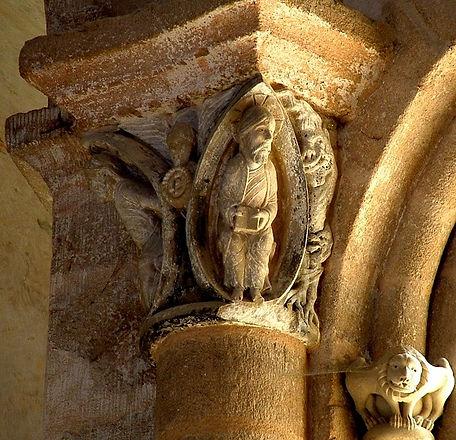 Chapiteaux Abbaye de Vigeois
