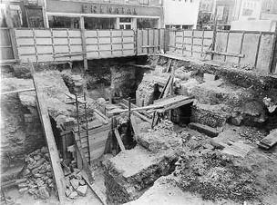 Les fouilles archéologiques à Limoges