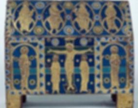 Chasse émaillée de la cathédrale de Tulle