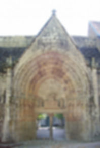 Portail du Moutier d'Ahun