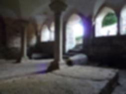 Salle capitulaire Prieuré du Chalard