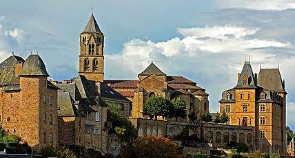 l'abbaye d'Uzerche