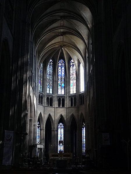 Chevet et choeur la cathédrale de Limoges