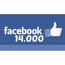 14 000 passionnés sur facebook !