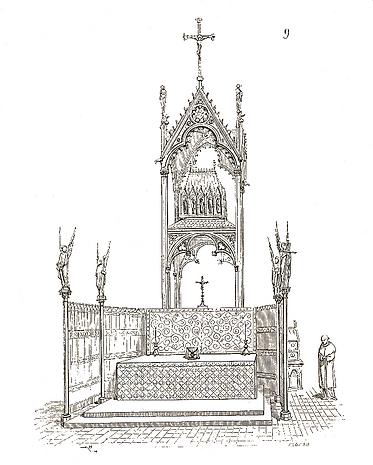 Cloture émaillée Vatican