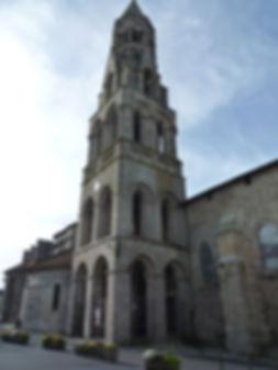 Collégiale Saint-Léonard-de-Noblat clocher limousin