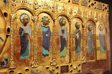 Limoges enamels medieval Silos