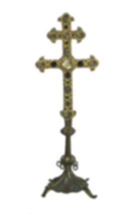 Croix  émaillée de Saint-Priest-Taurion