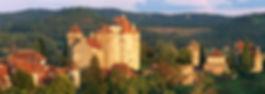 Medieval village Curemonte