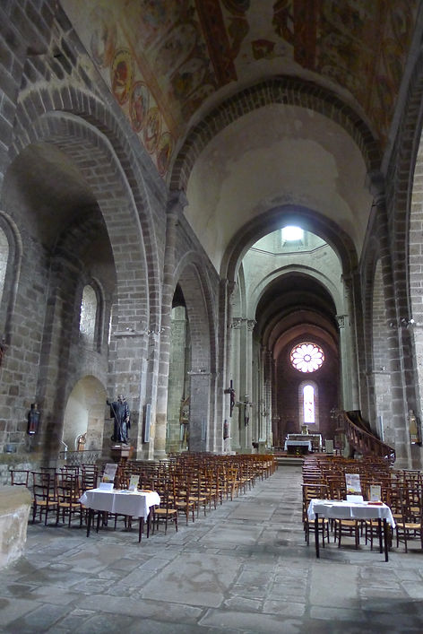 Collégiale Saint-Junien nef