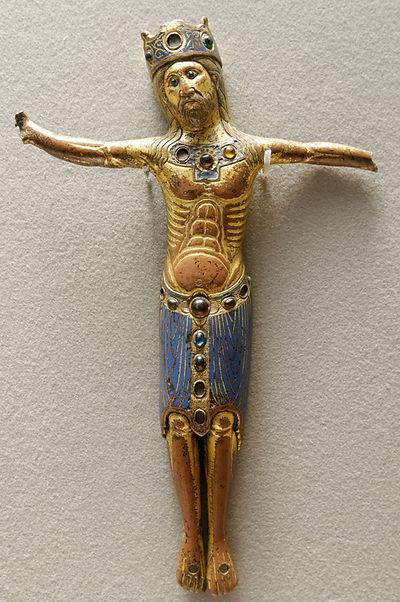 Croix émaillée Enamels Louvre