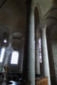 Déambulatoire de l'abbaye d'Uzerche